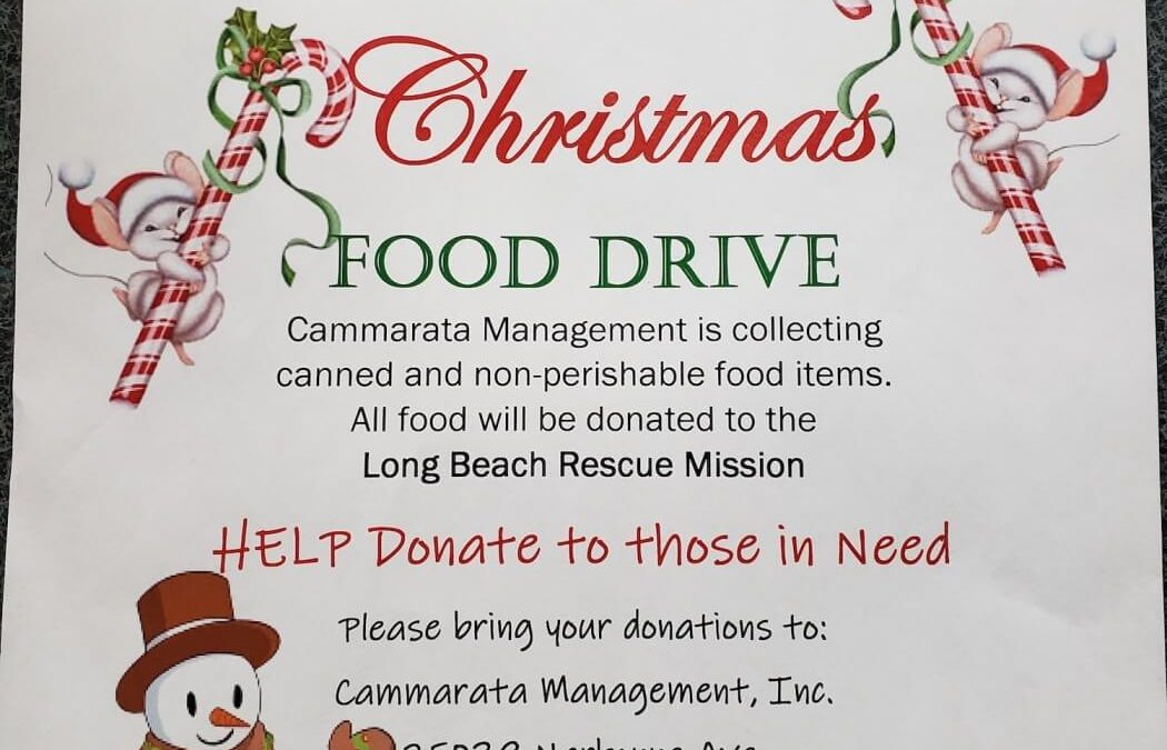 8th Annual Christmas Food Drive